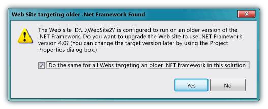 .NET frame work found