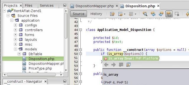 PHP Editing