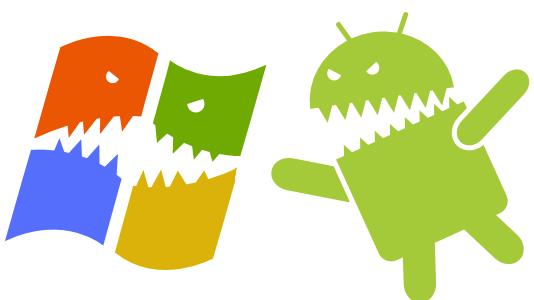 Windows vs Android