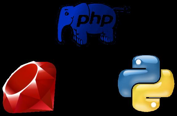 Ruby vs PHP vs Python