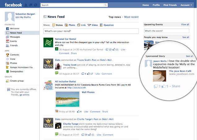 Facebook Sponsored
