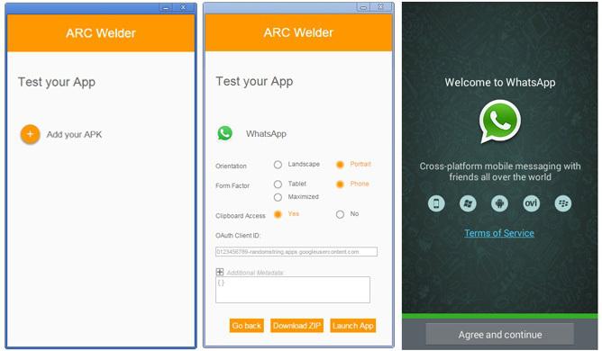 Run Android App on Windows