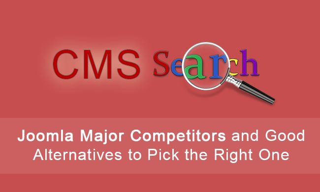 Joomla CMS Competitors