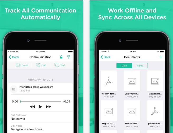 iPad Marketing Automation App