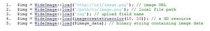 Image URLs